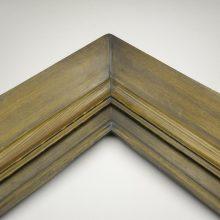 قاب چوبی کد لویی ساده ۳ قابه قهوه ای