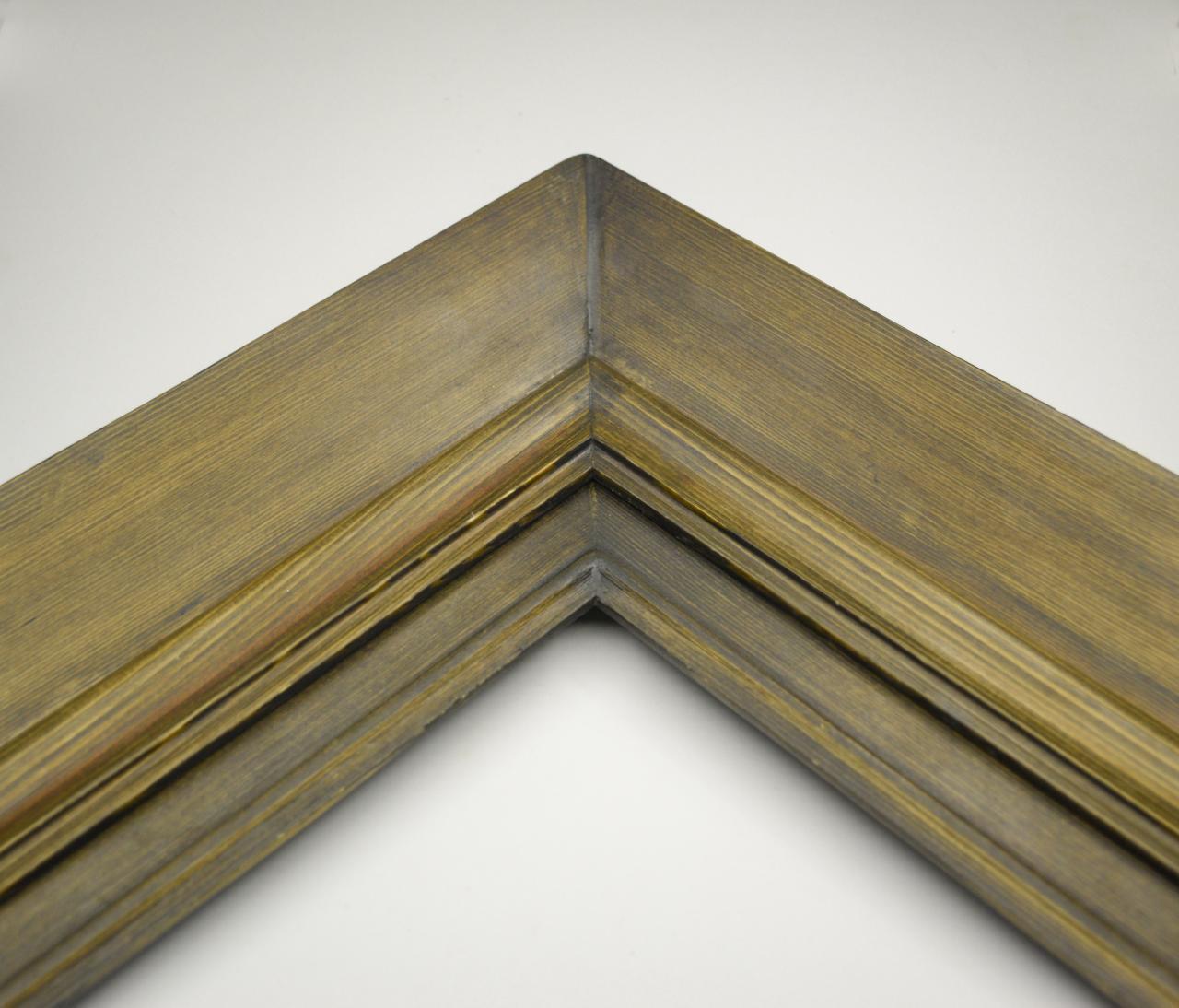 قابسازی چارچوب - قاب چوبی کد لویی ساده 3 قابه قهوه ای